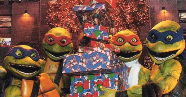 Teenage Mutant Ninja Turtles firar julen
