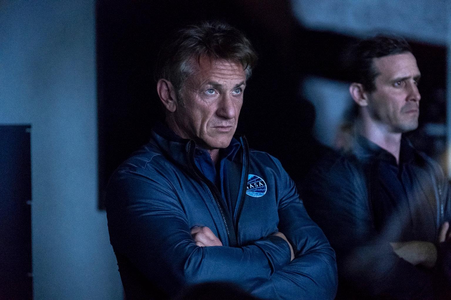 """Sean Penn i rymdserien """"The First""""."""