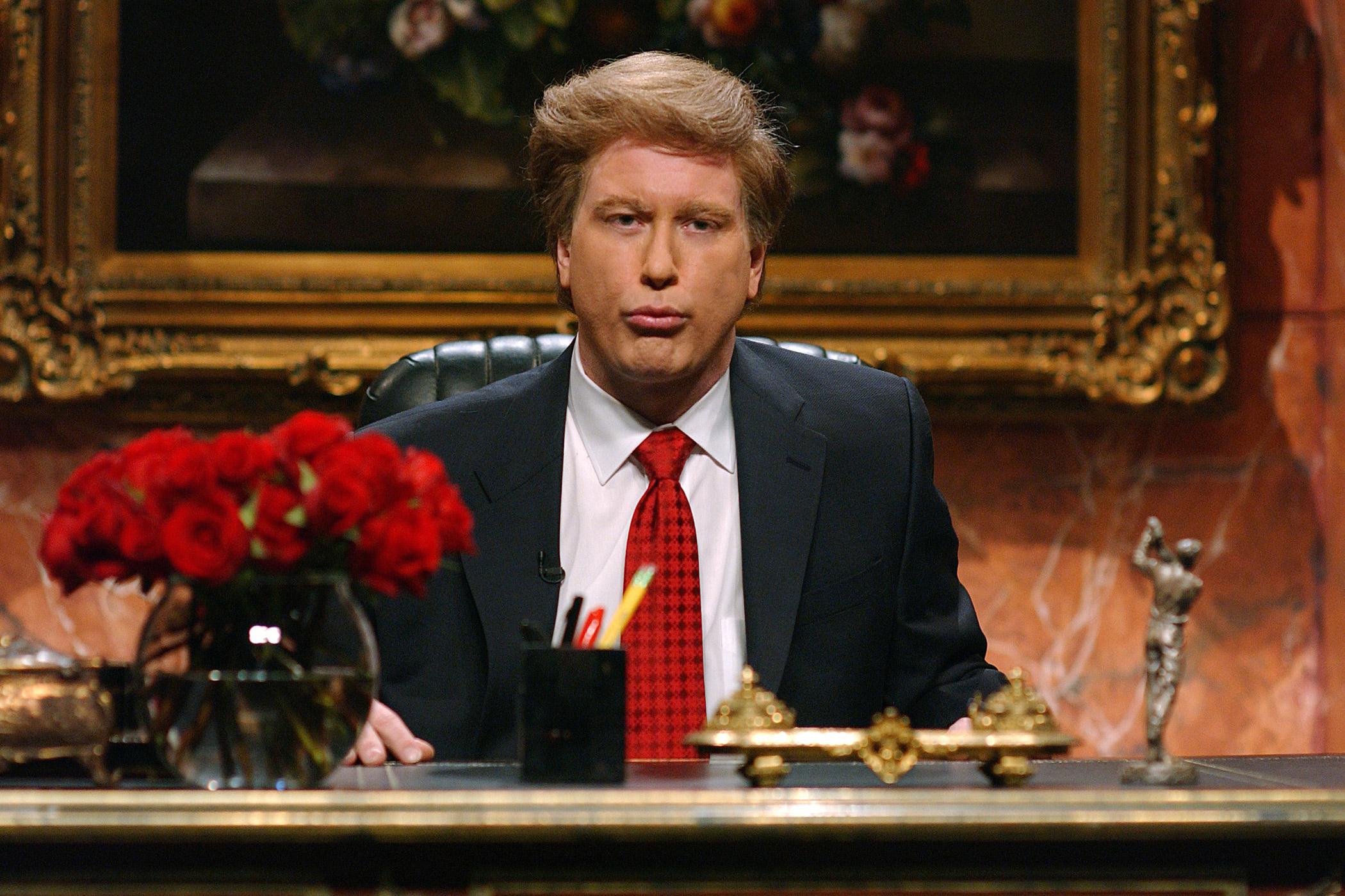 Darrell Hammond som Donald Trump