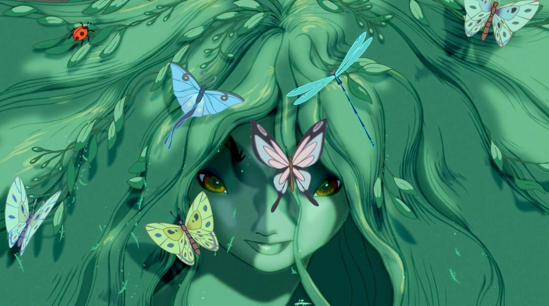 Grön sagovarelse i Fantasia 2000