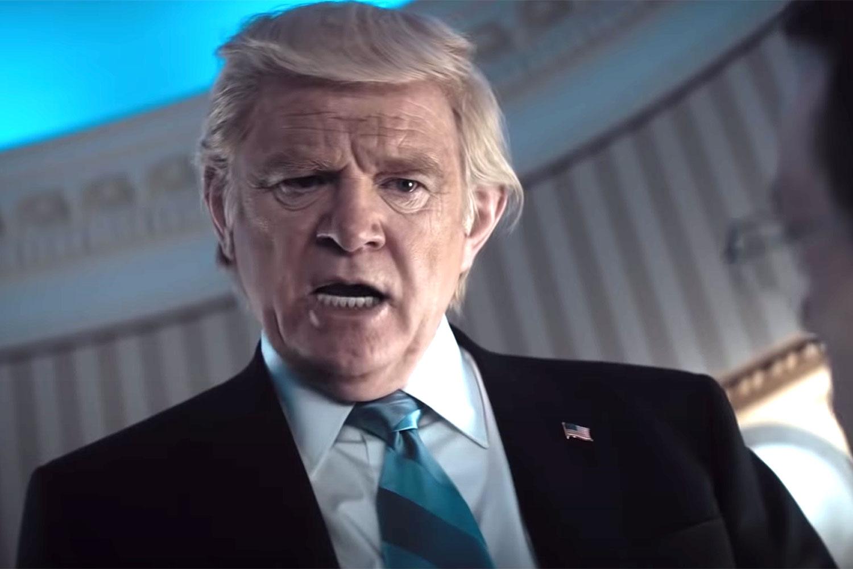 Brendan Gleeson som Donald Trump