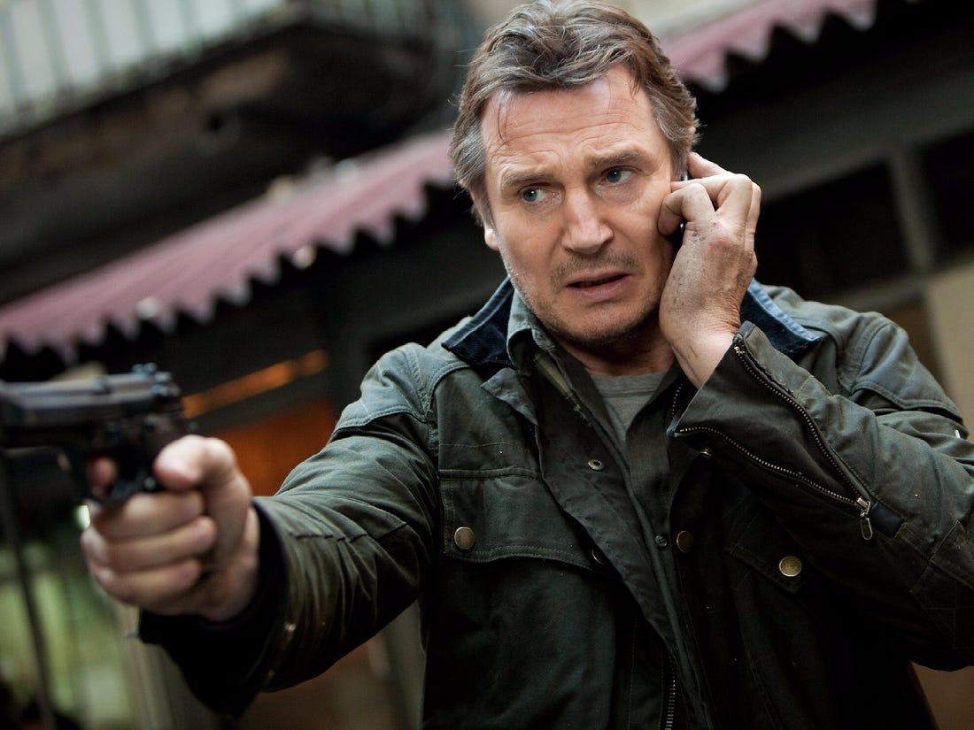 "Liam Neeson i ""Taken"". Foto: 20th Century Fox."