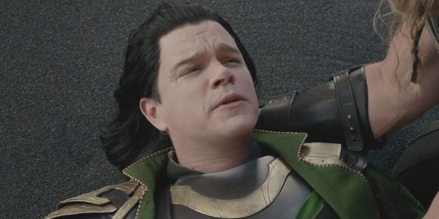 Matt Damon som Loki
