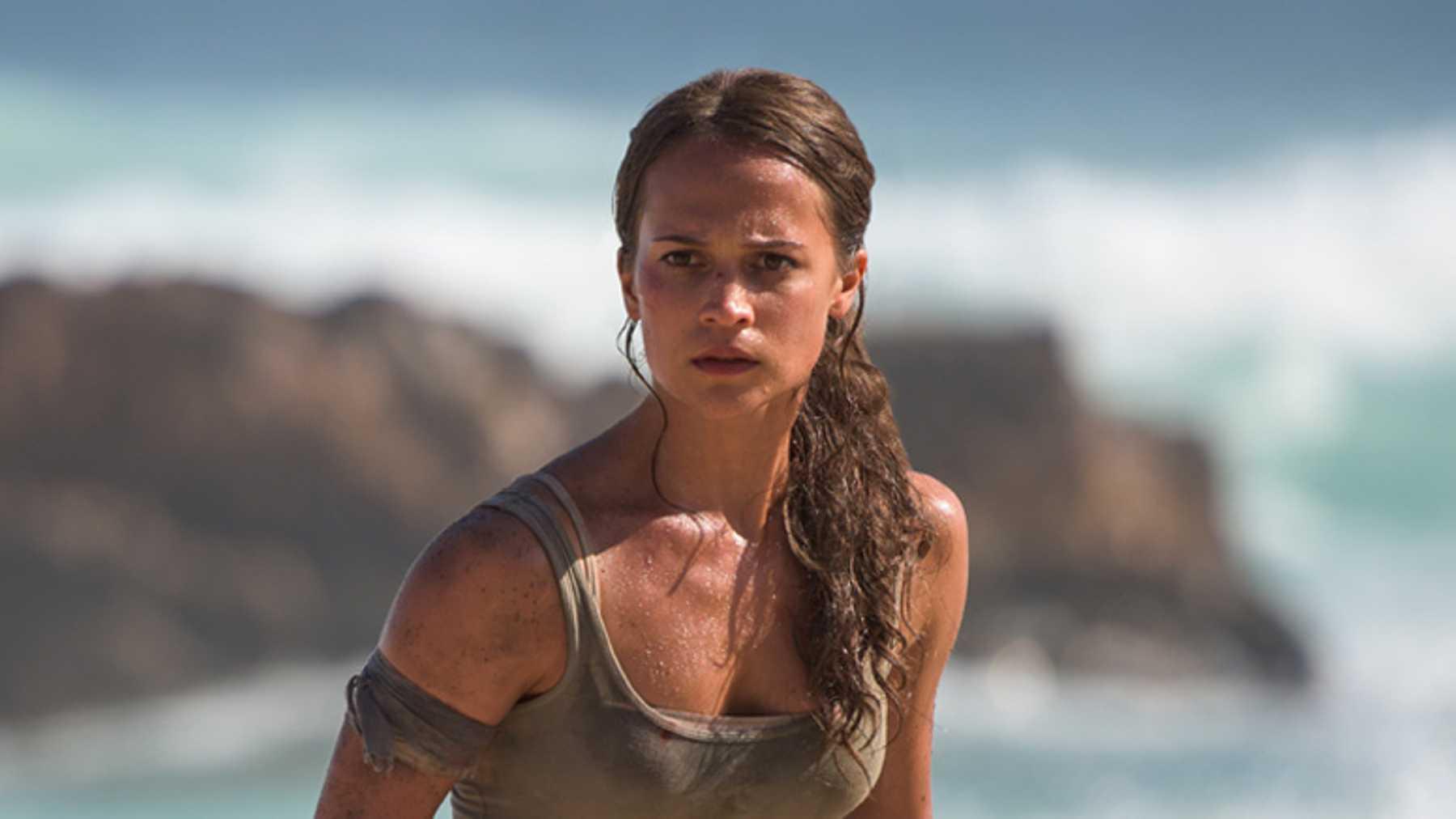 """Alicia Vikander i """"Tomb Raider"""" (2018)."""