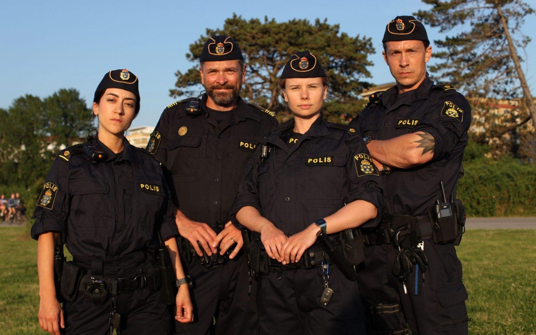 Tunna blå linjen på SVT