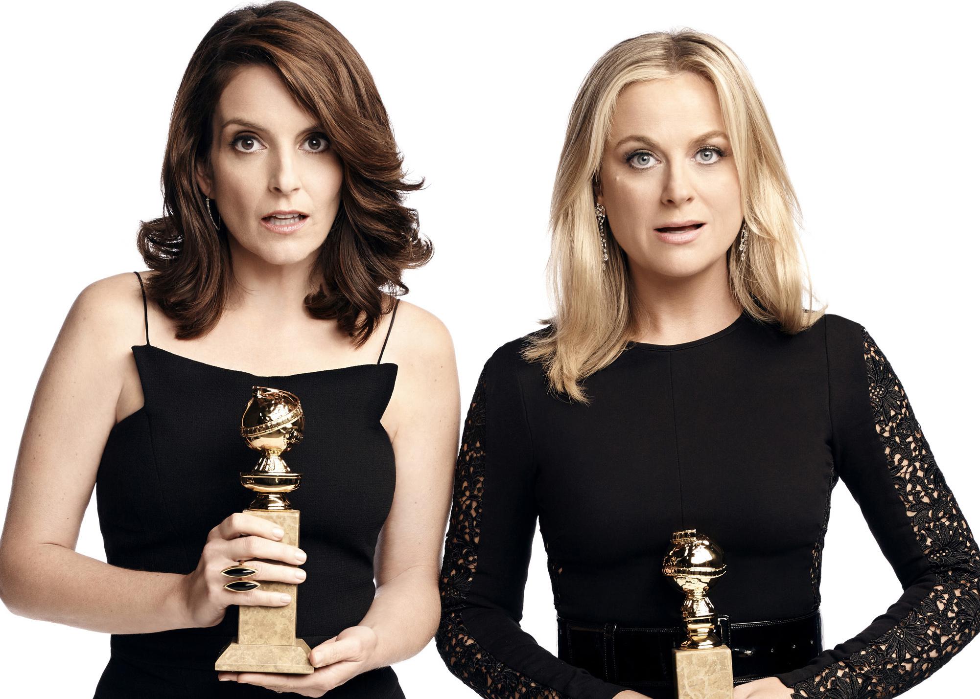 Tina Fey och Amy Poehler gör sin fjärde Golden Globe gala.