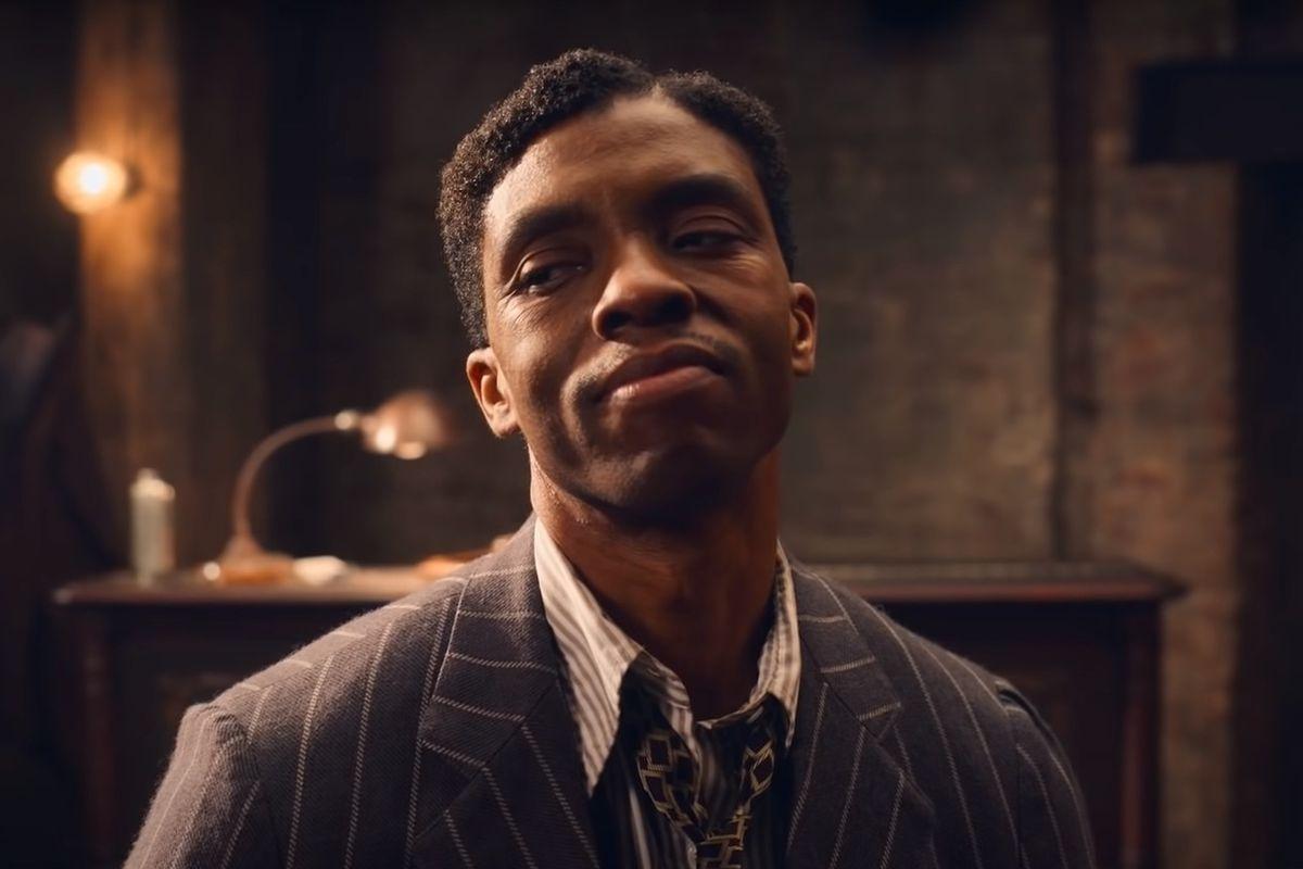 """Chadwick Boseman i """"Ma Rainey's Black Bottom""""."""