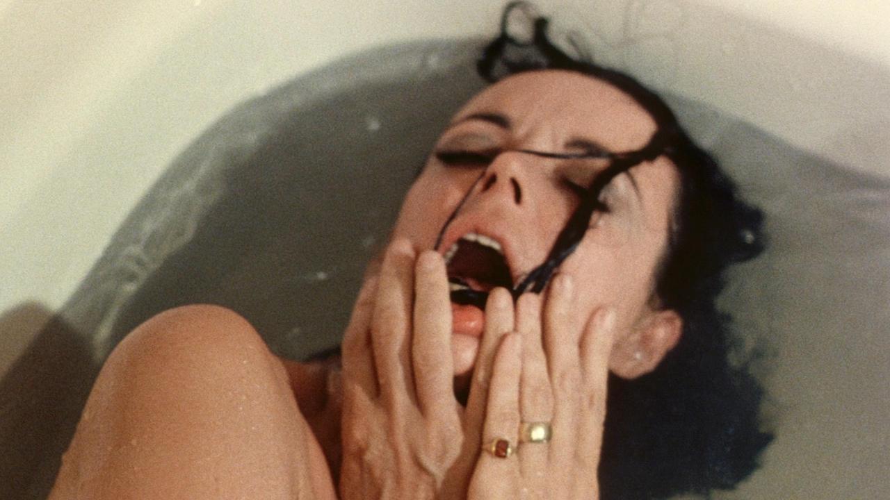Filmen Shivers (1975), regisserad av David Cronenberg. En regissör som inspirerat Carolina Sandvik