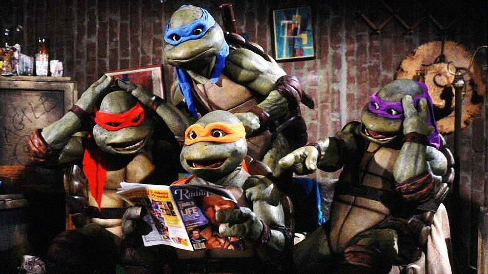 Muterade sköldpaddor samlade för högläsning