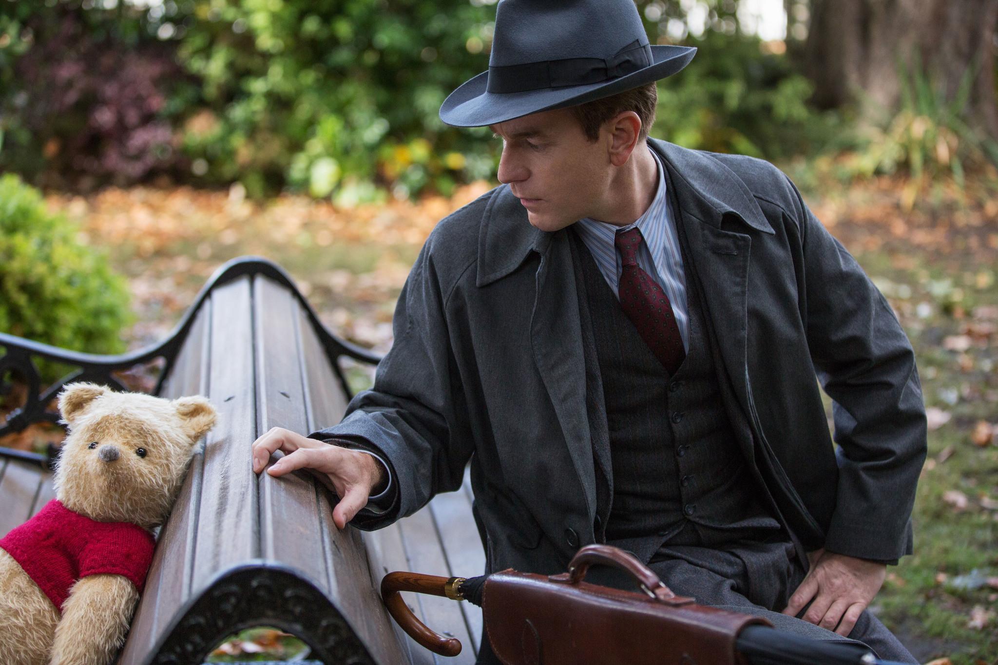 Ewan McGregor som Christoffer Robin