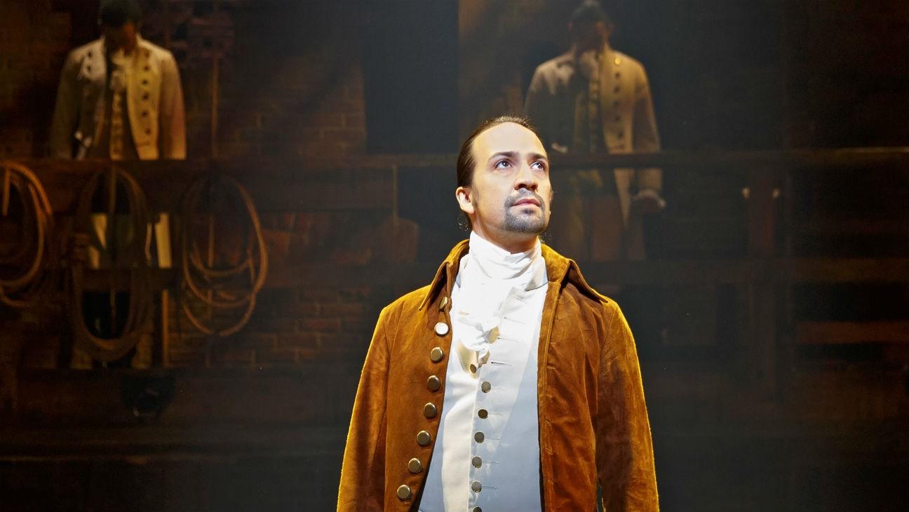 Lin-Manuel Miranda som Alexander Hamilton. Foto: Disney+