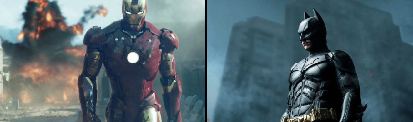 Iron Man och Batman kan mötas i en crossover tycker Filmtopp