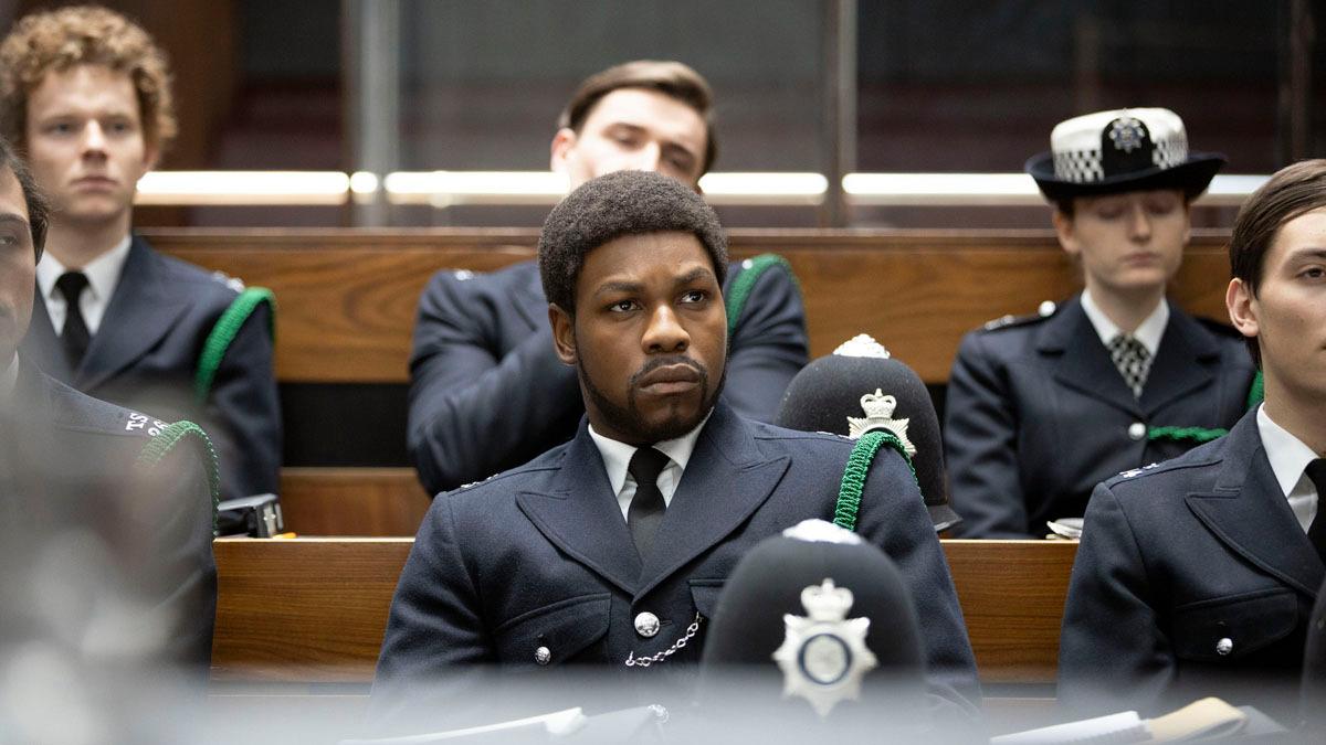 """John Boyega vann i natt en Golden Globe för sin insats i """"Small Axe"""" på Amazon Prime Video."""
