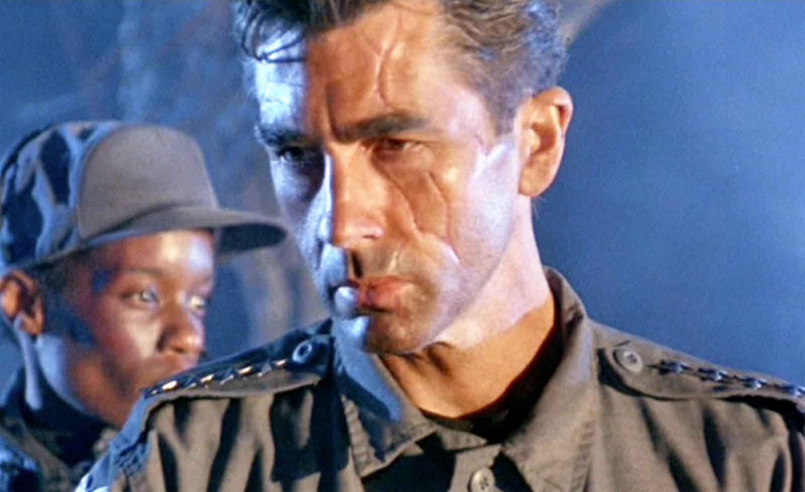 Det spelar ingen roll hur många andra som spelar rollen som John Connor. Michael Edwards, som inte ens har några repliker i Terminator 2: Domedagen, är den bild de flesta har av en vuxen John Connor. Foto: TriStar Pictures.