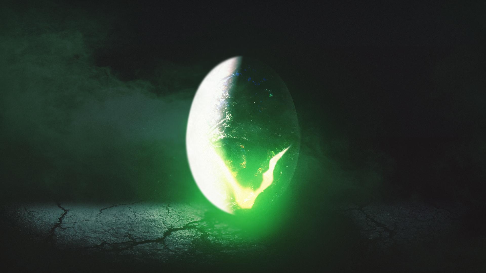 alien ägg