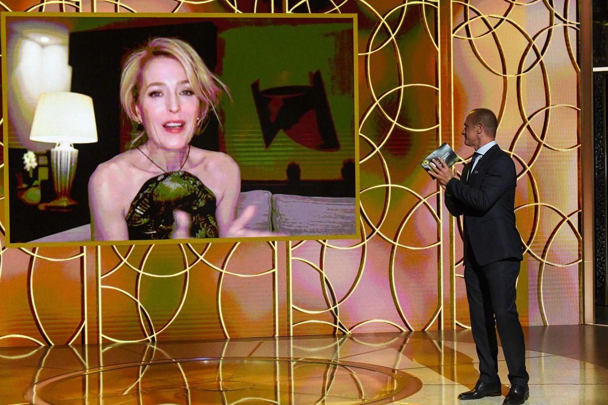 """Gillian Anderson vinner för sin insats i """"The Crown""""."""