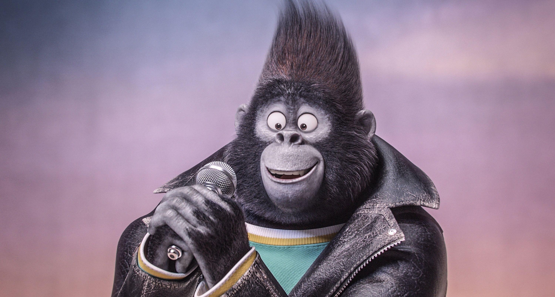 Gorilla tar ton i Sing