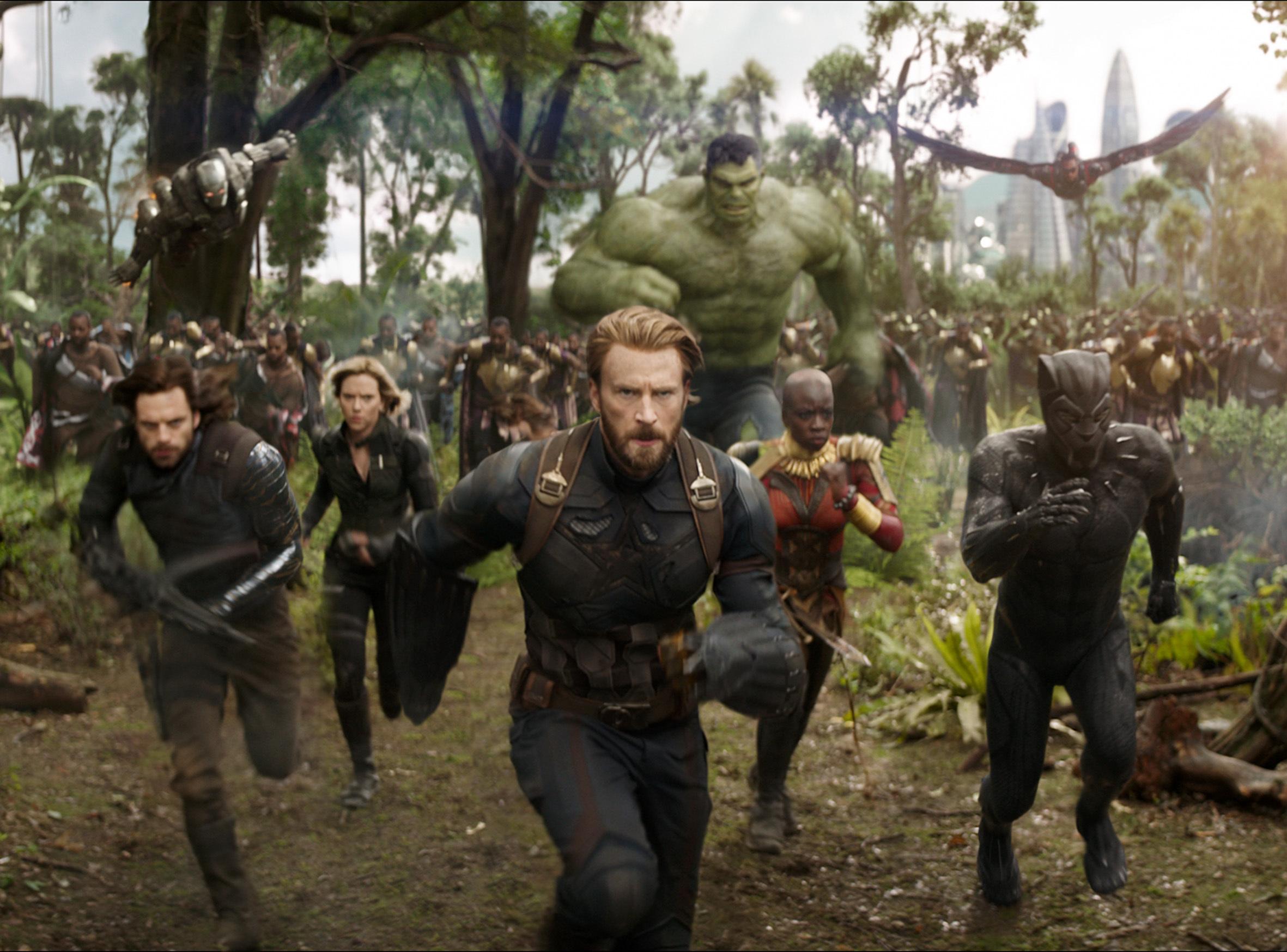 Avengers Infinity War bäst 2018