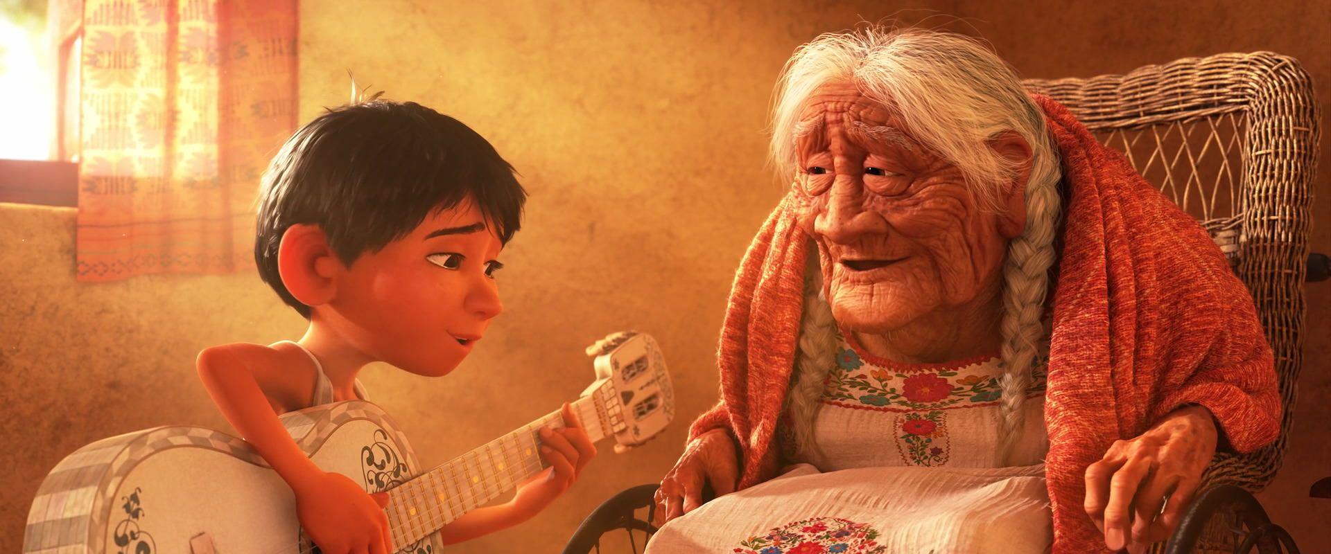 Pixars Coco från 2017