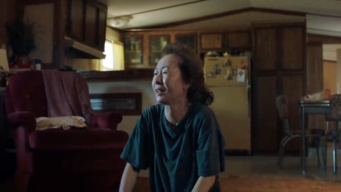 Yuh-jung Youn vann en Oscar för bästa kvinnliga biroll för Minari. Foto: A24.
