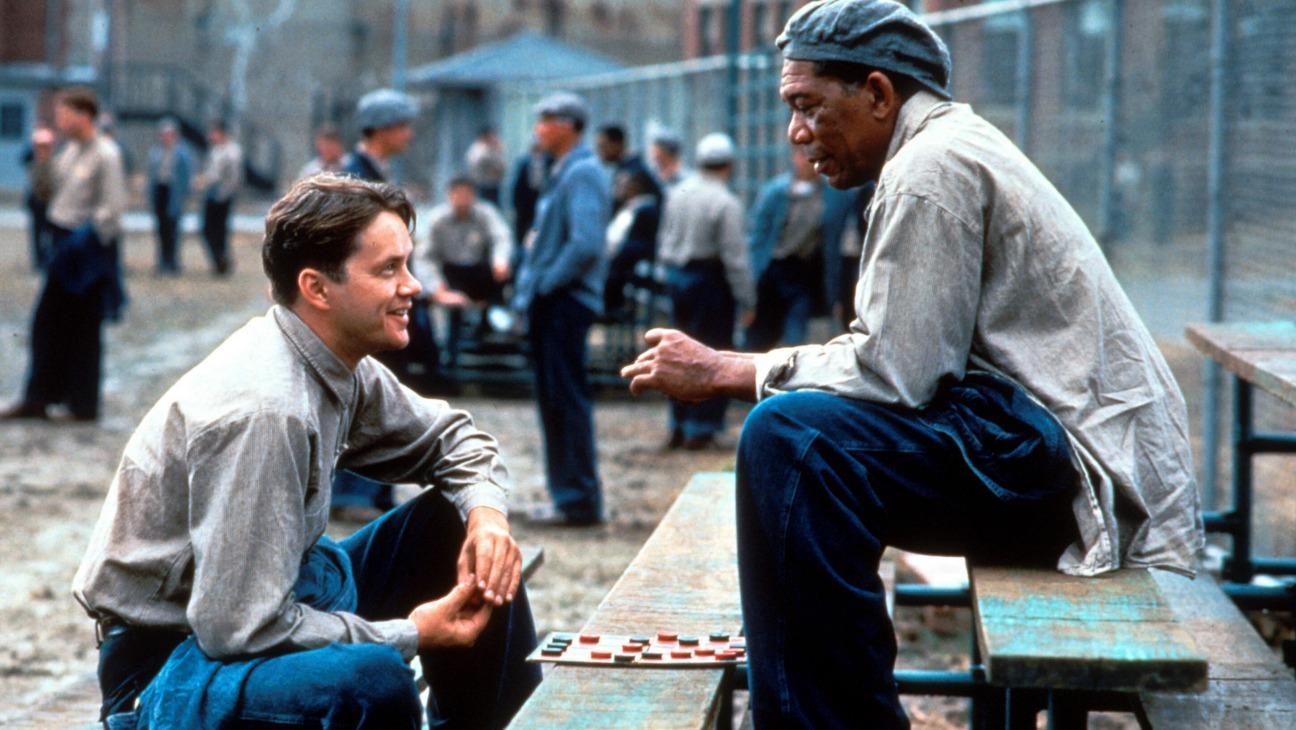 Shawshank Redemption bästa rankade filmen på 90-talet