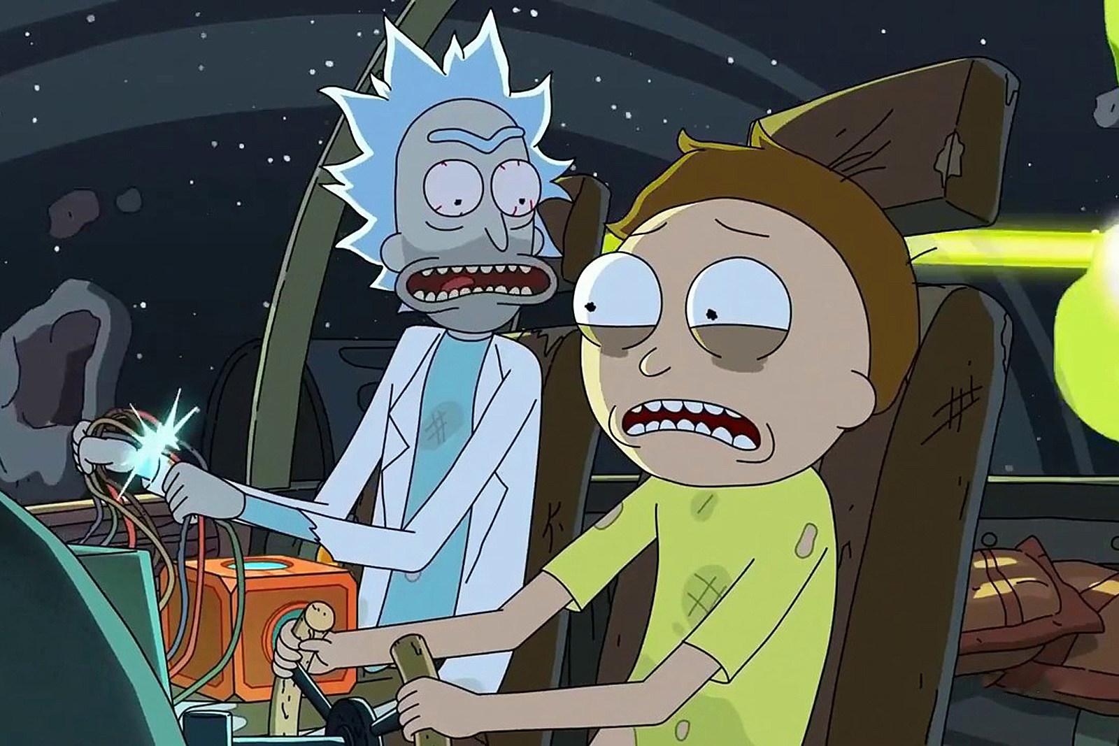 Rick and Morty på HBO