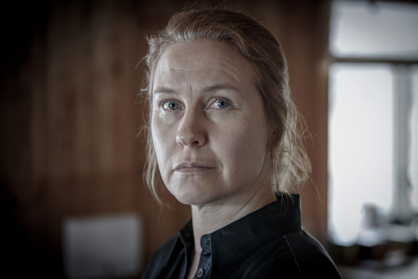 Eva Melander i Snöänglar.