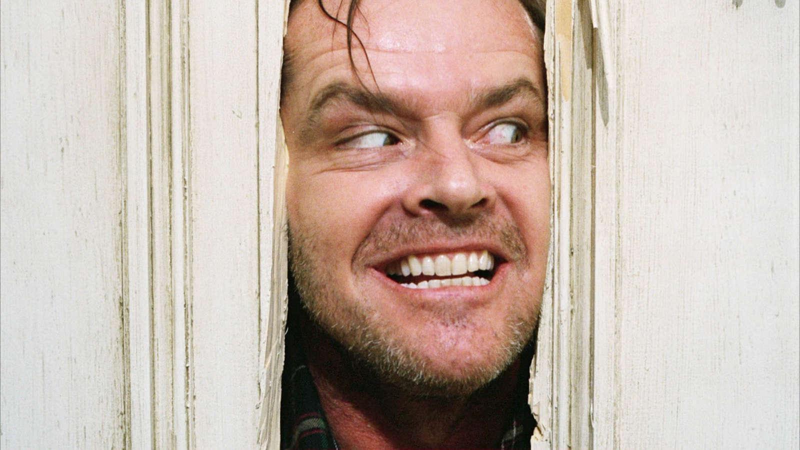 Jack Nicholson i The Shining