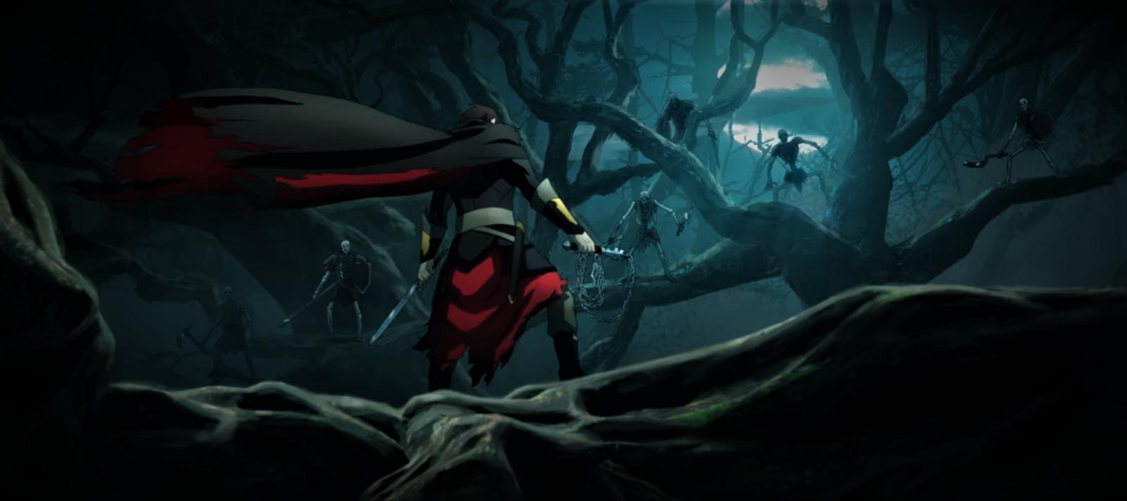 Castlevania är en av de bästa animerade serierna 2021