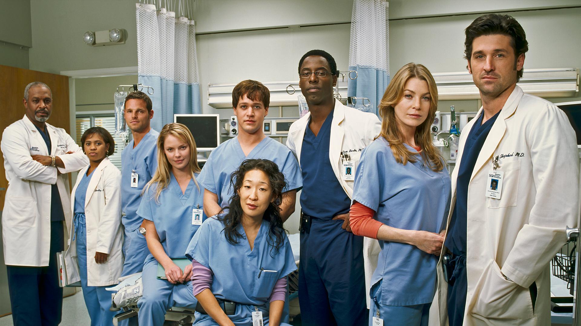 Långköraren Grey's Anatomy finns att se på Discovery+.