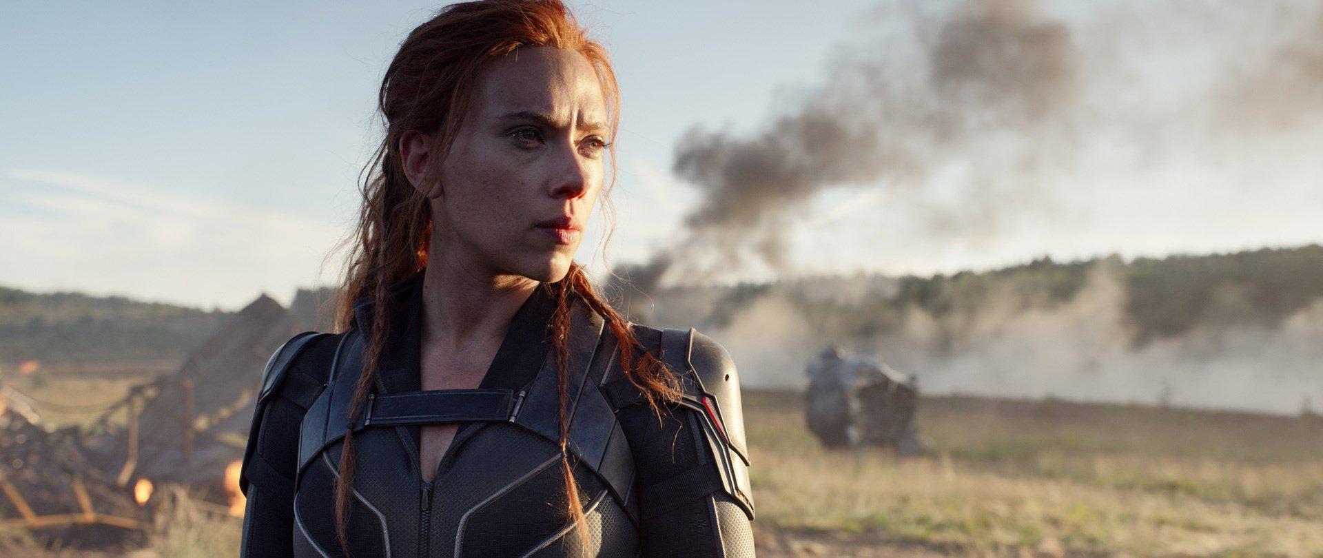 Scarlett Johansson som Black Widow