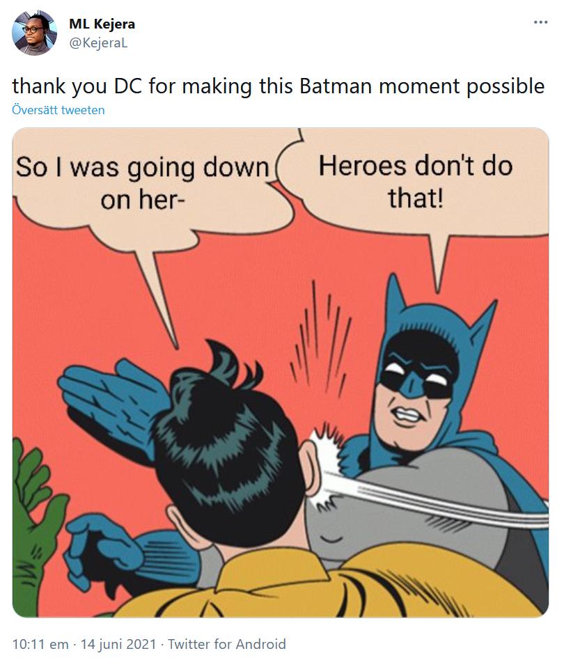 @KejeraL om Batman och Catwoman