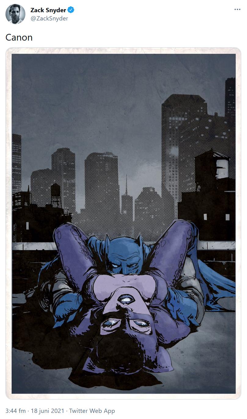 Zack Snyder om Batman och Catwoman
