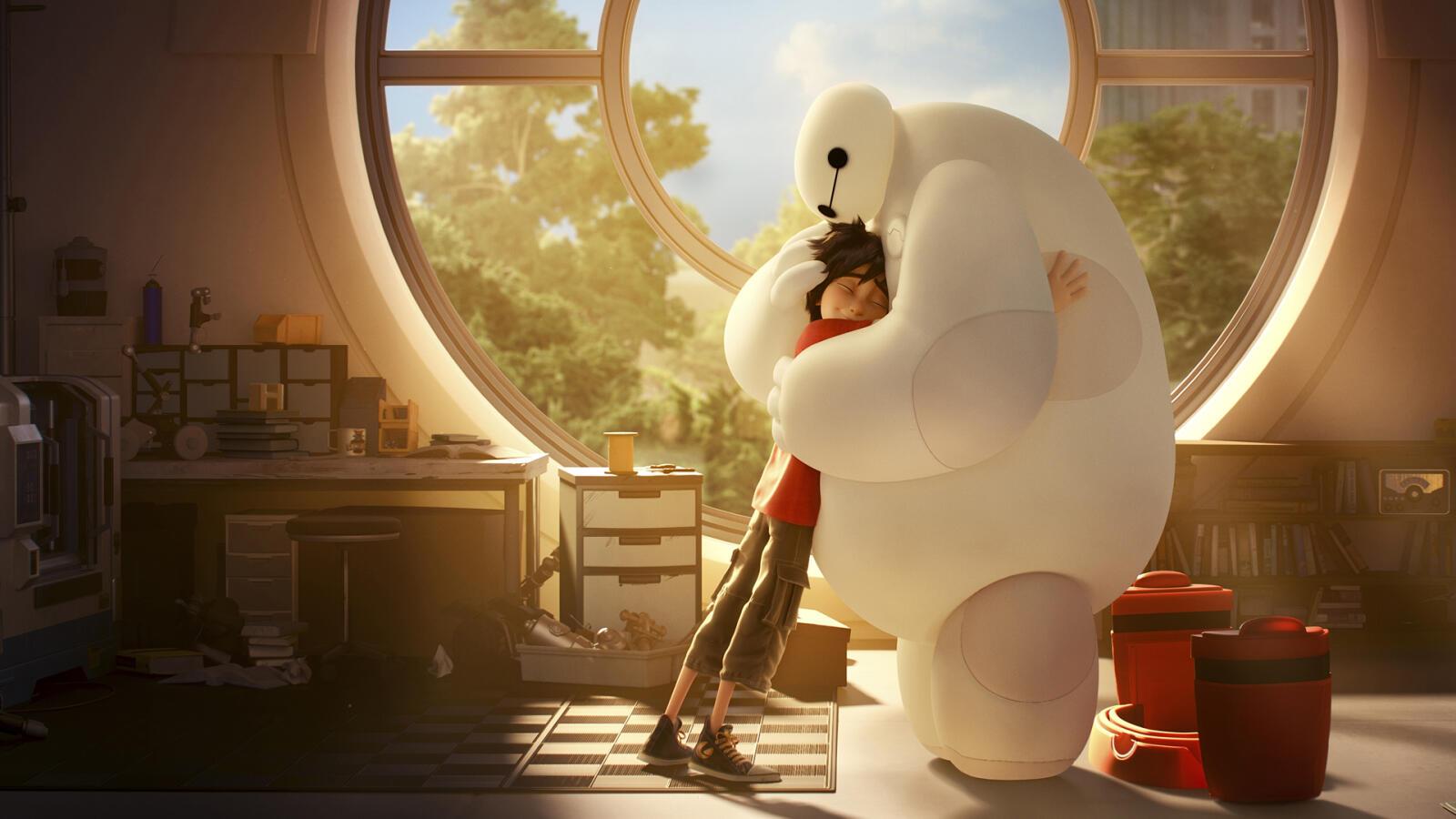Big Hero 6, plats 10 på listan över de bästa Disneyfilmerna