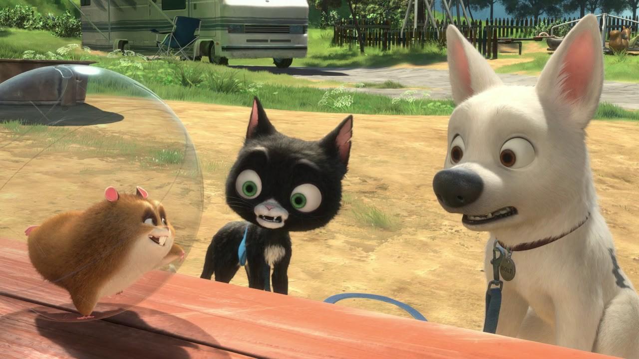 Bolt – plats 22 bland de bästa Disneyfilmerna.