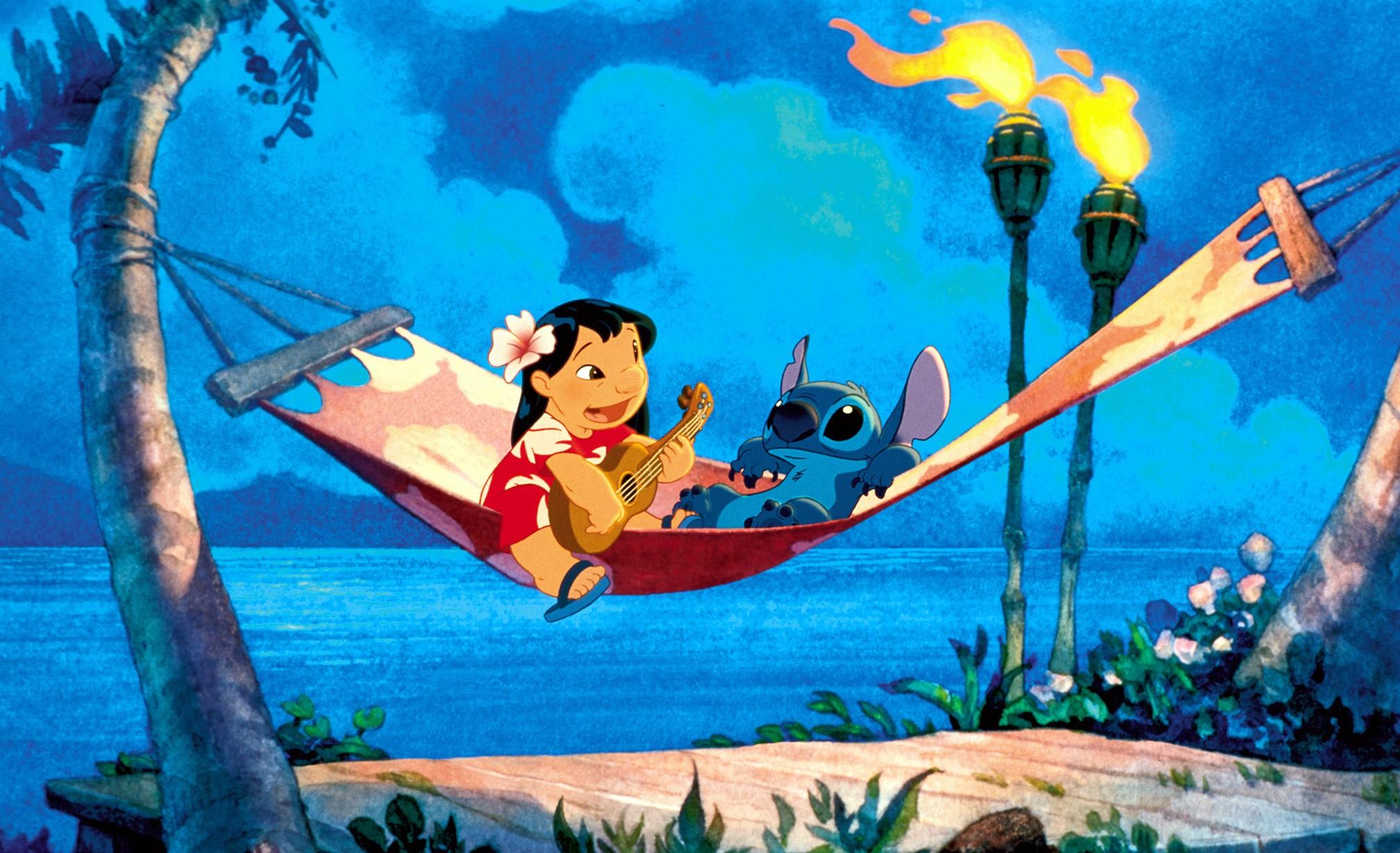 Lilo & Stitch – plats 21 på listan över de bästa Disneyfilmerna.