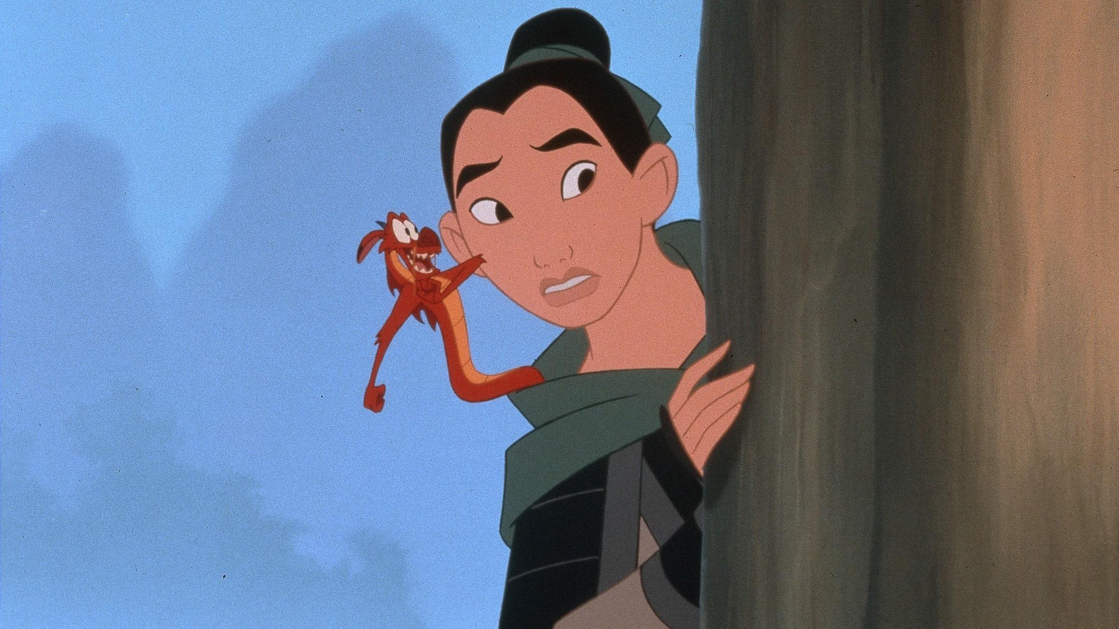 Mulan, plats fem på listan över de bästa Disneyfilmerna