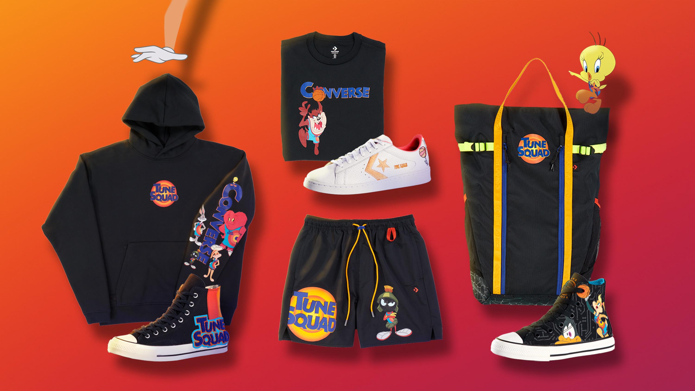 Space Jam - Converse-kläder