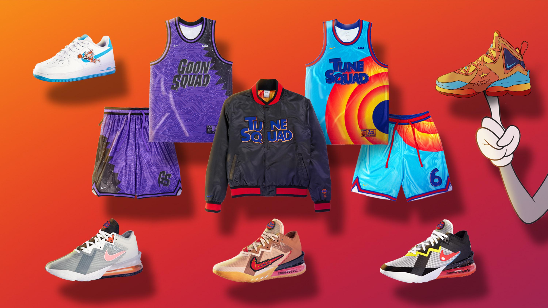 Space Jam - Nike-kläder