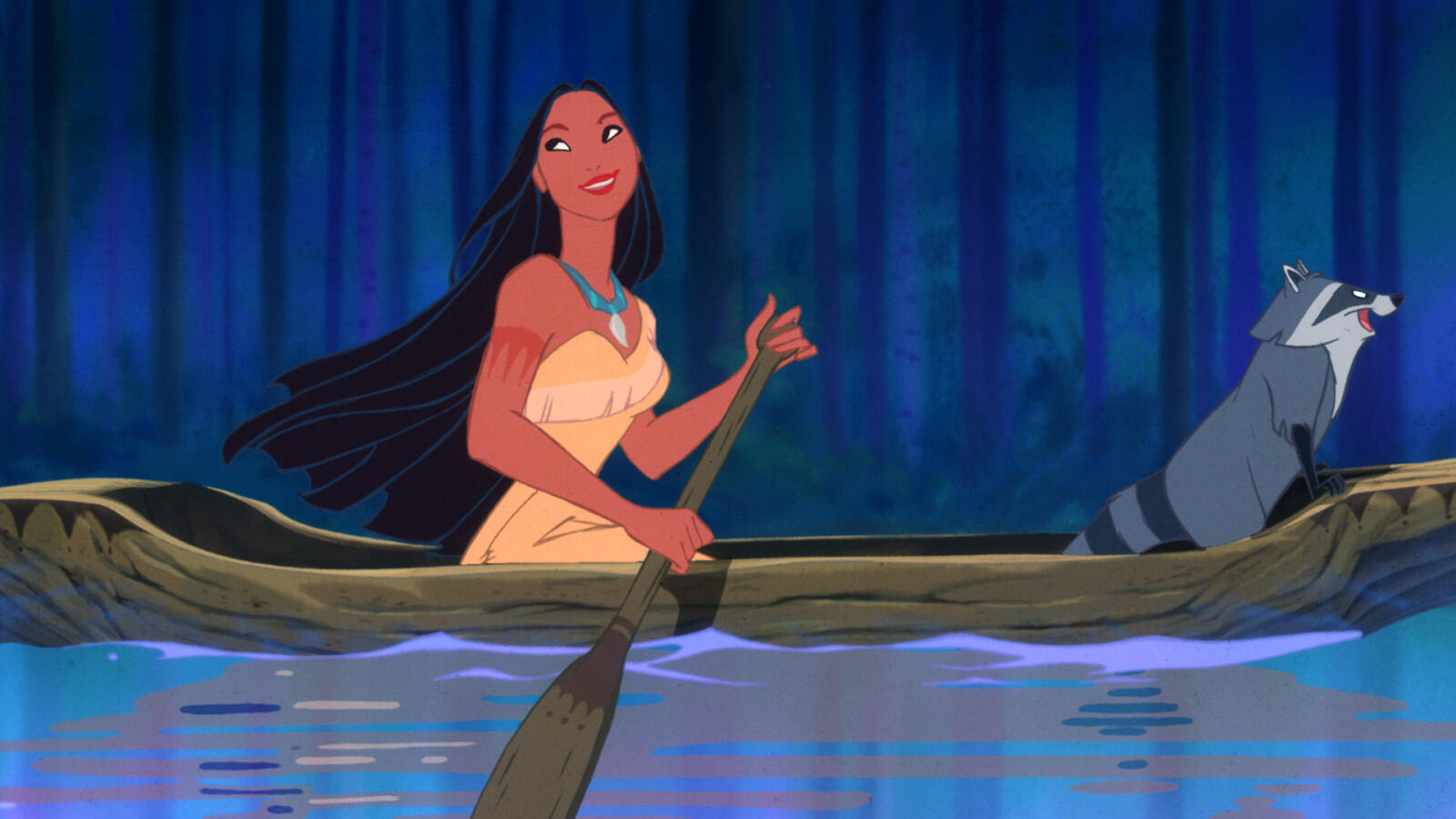 Pocahontas, plats 20 bland de 22 bästa Disneyfilmerna