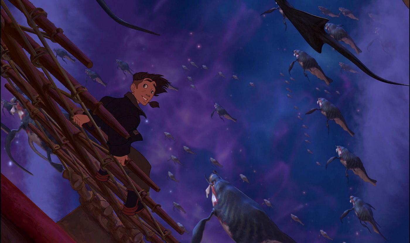 Skattkammarplaneten, plats 15 bland de 22 bästa Disneyfilmerna