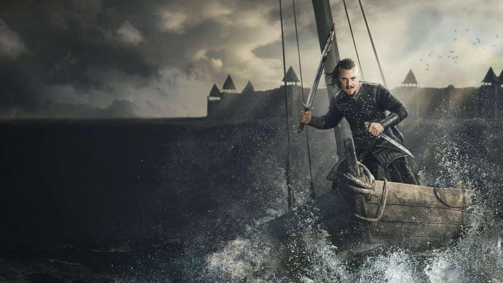 The Last Kingdom, en av alla äventyrsserier på Netflix.