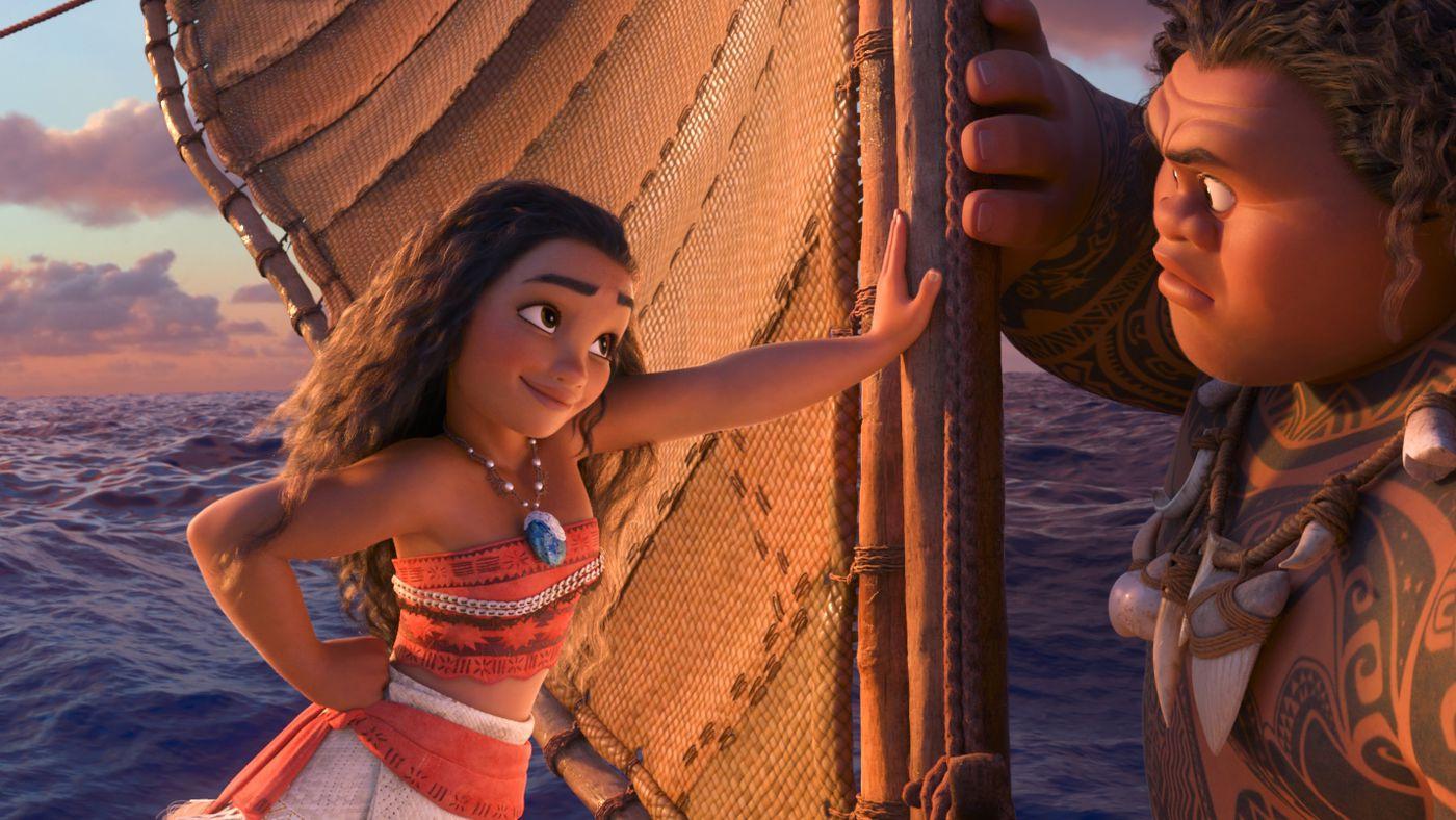 Vaiana – plats 11 av de 22 bästa Disneyfilmerna