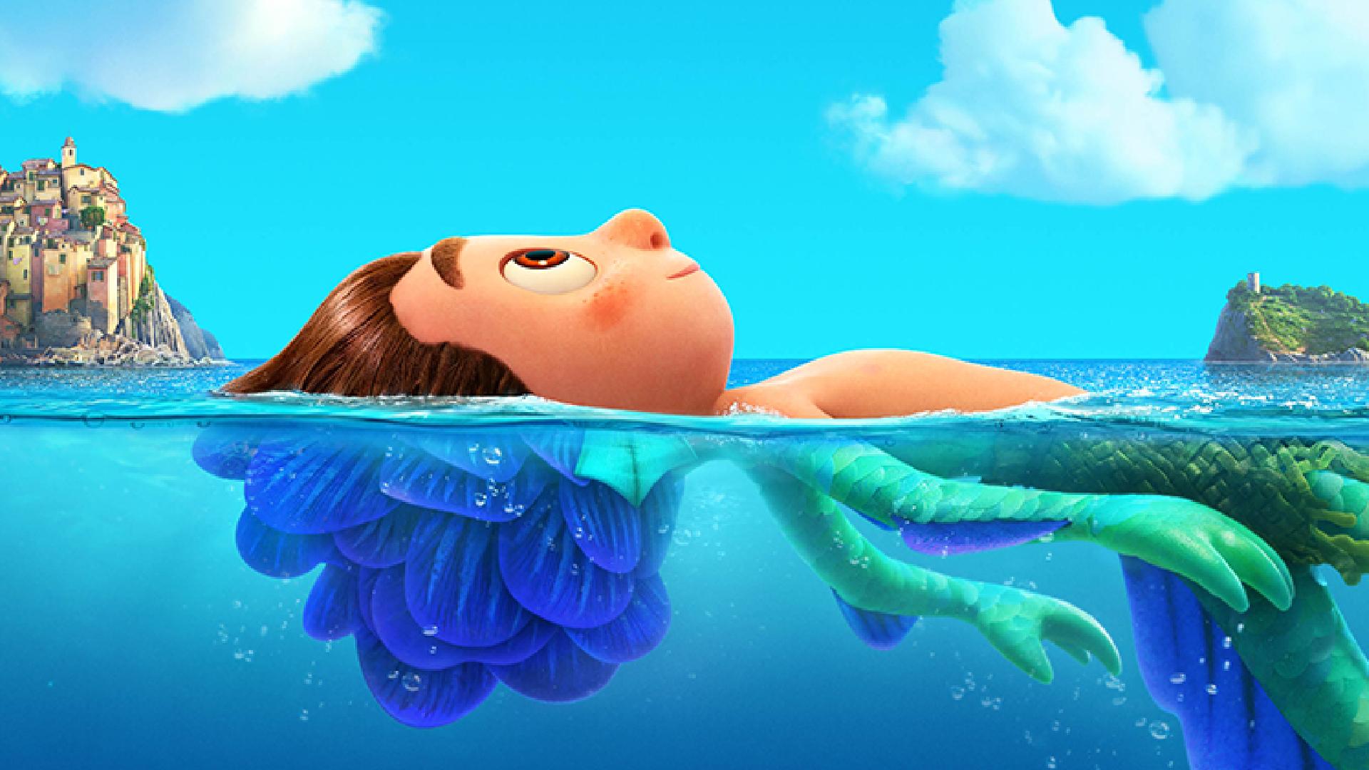 Luca är en av de bästa filmerna på Disney+.