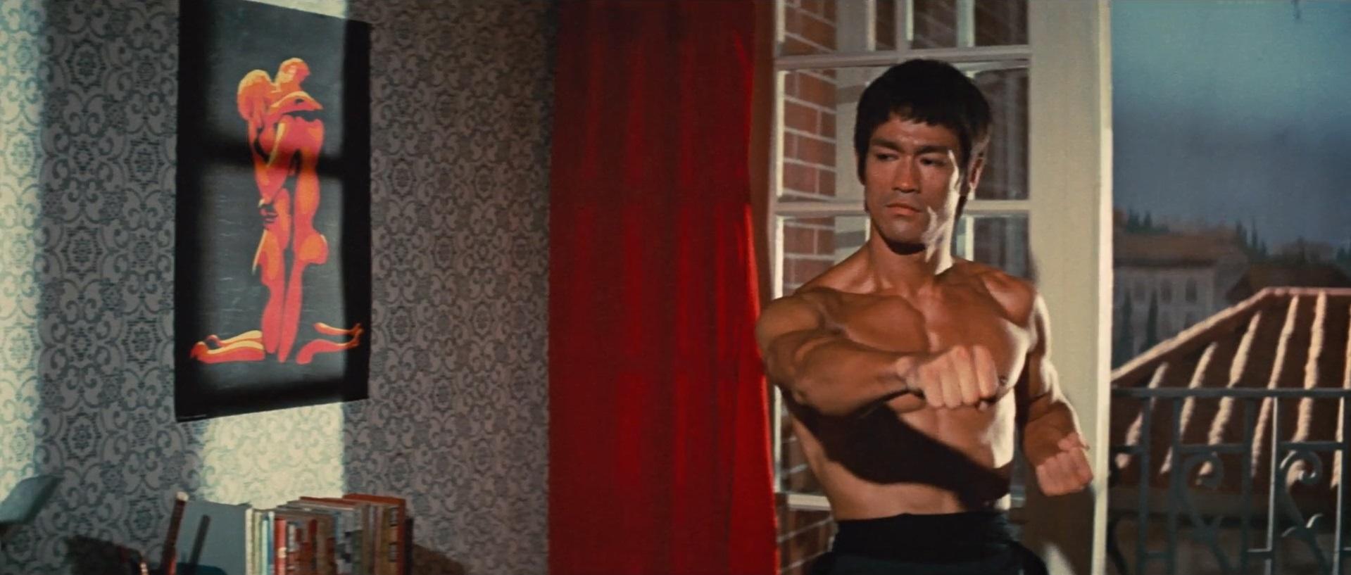 Bruce Lee i Drakens väg.