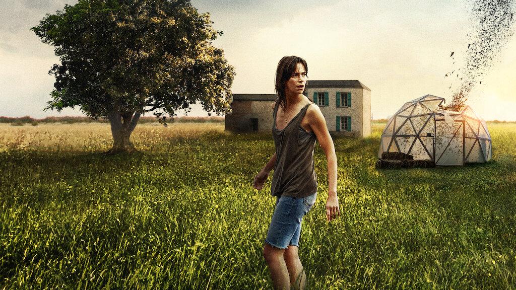 """I skräckfilmen """"Svärmen"""" utvecklar en kvinna en farlig relation till gräshoppor."""