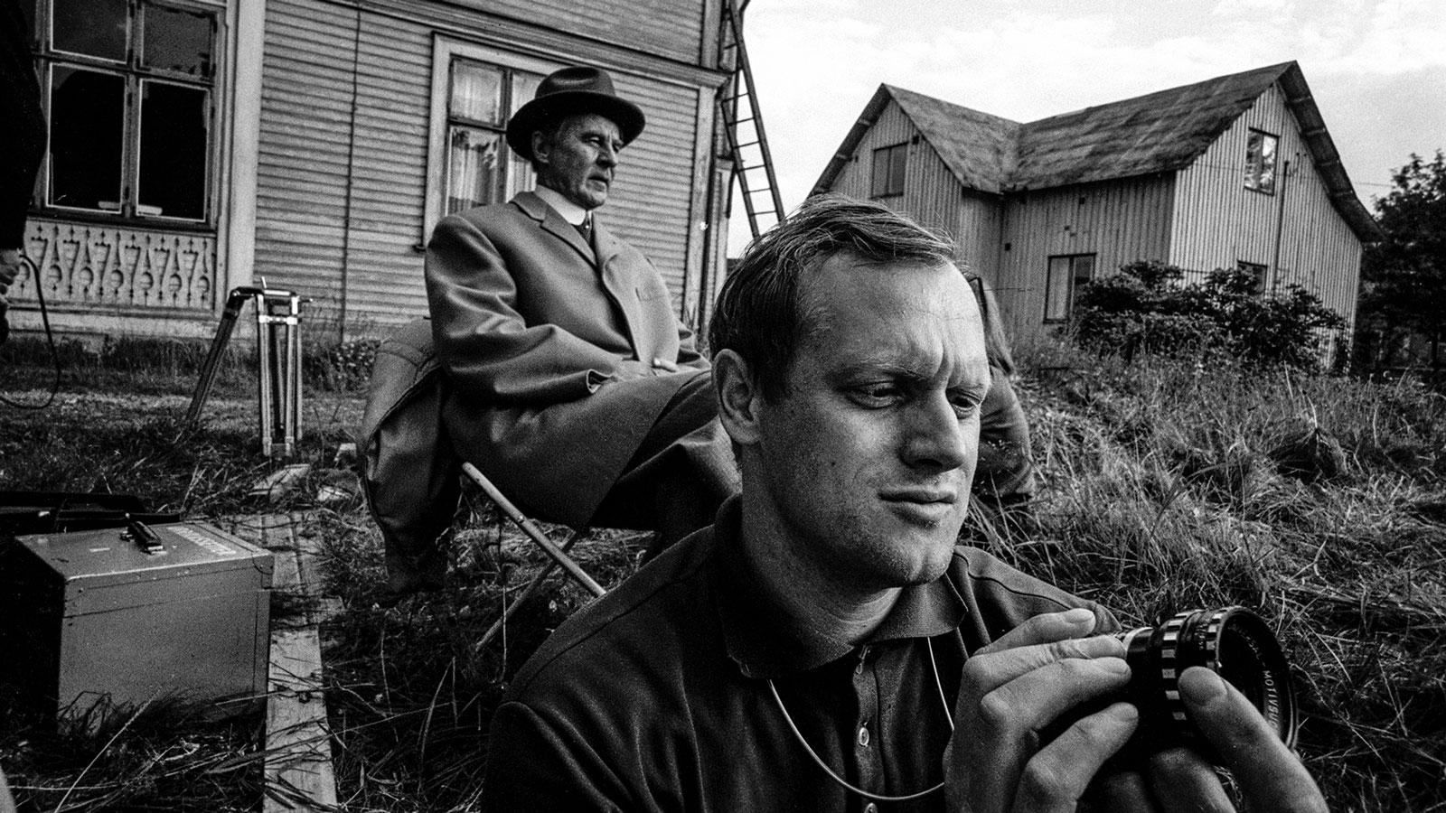Jan Troell och Gunnar Björnstrand