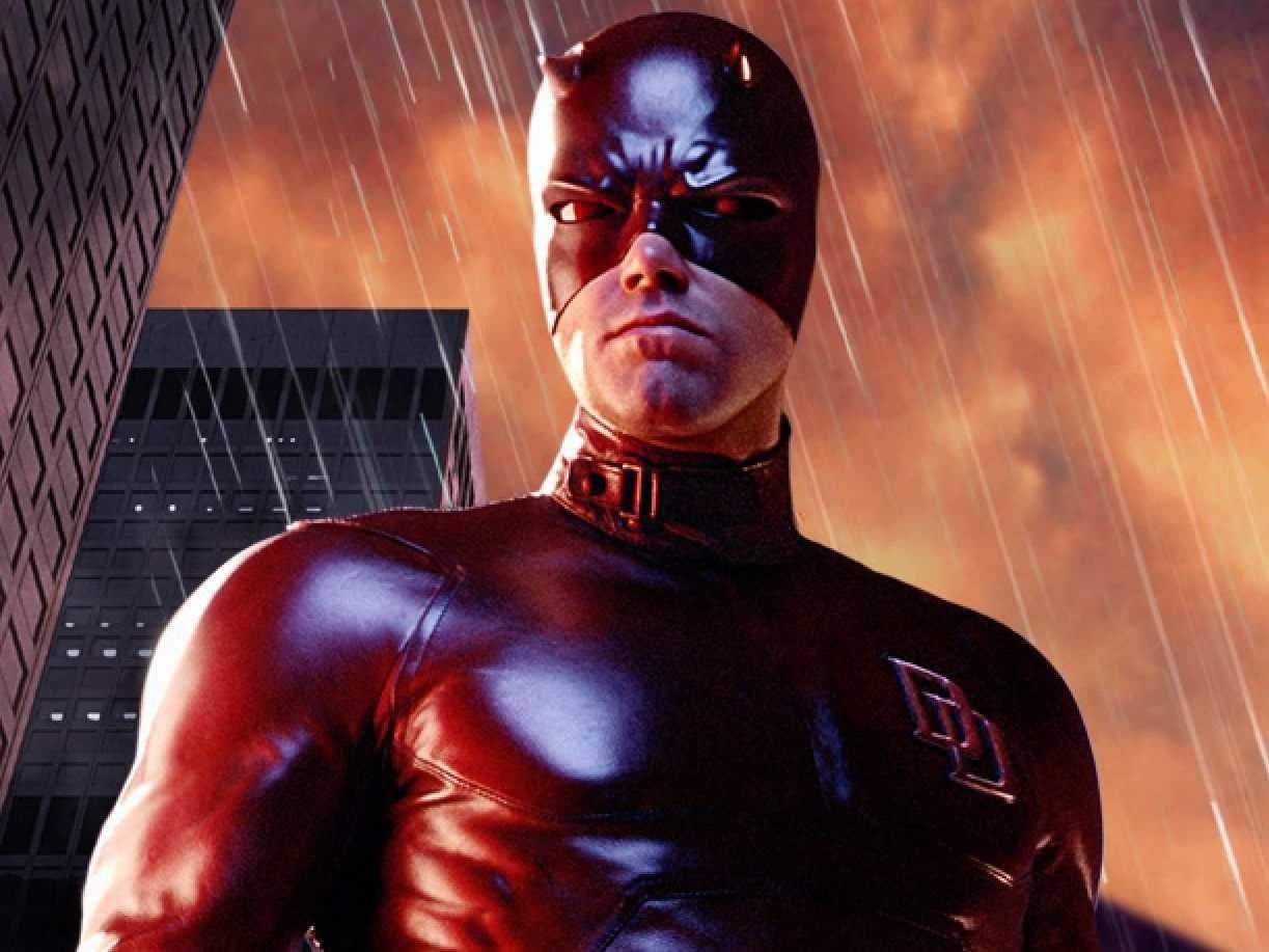 """Ben Affleck i hårt kritiserade """"Daredevil"""". Han har själv kallat den sitt största karriärsmisstag."""