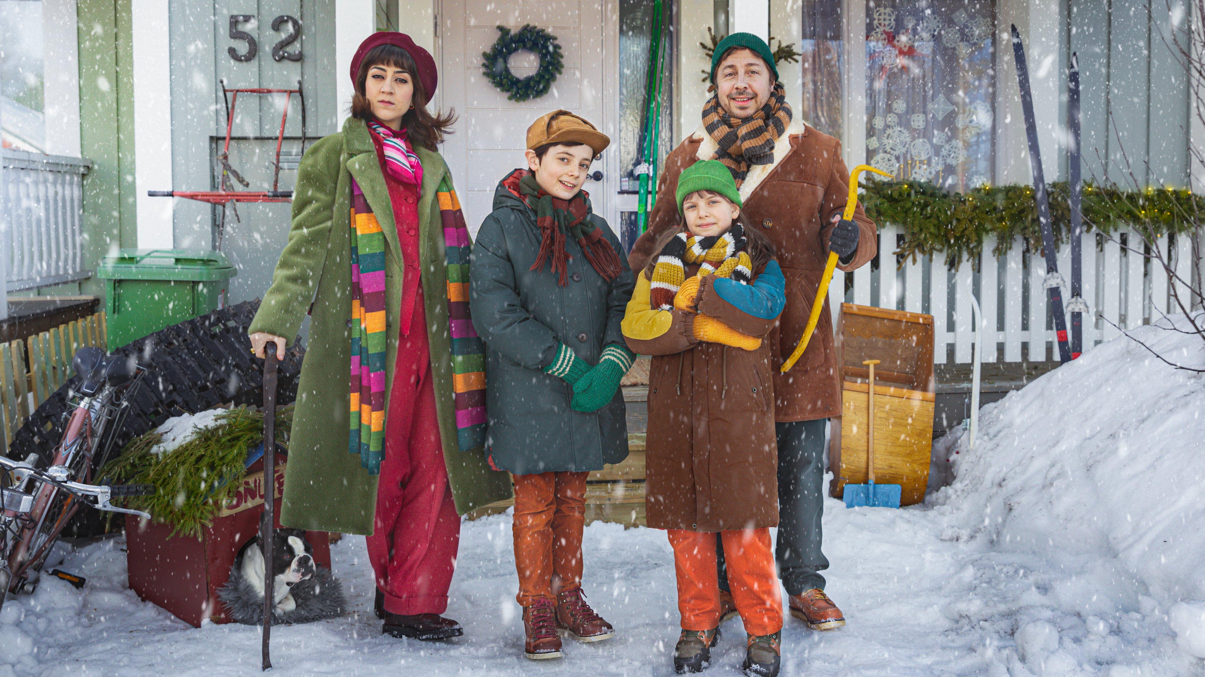 En hederlig jul med Knyckertz. Foto: Ulrika Malm/SVT.