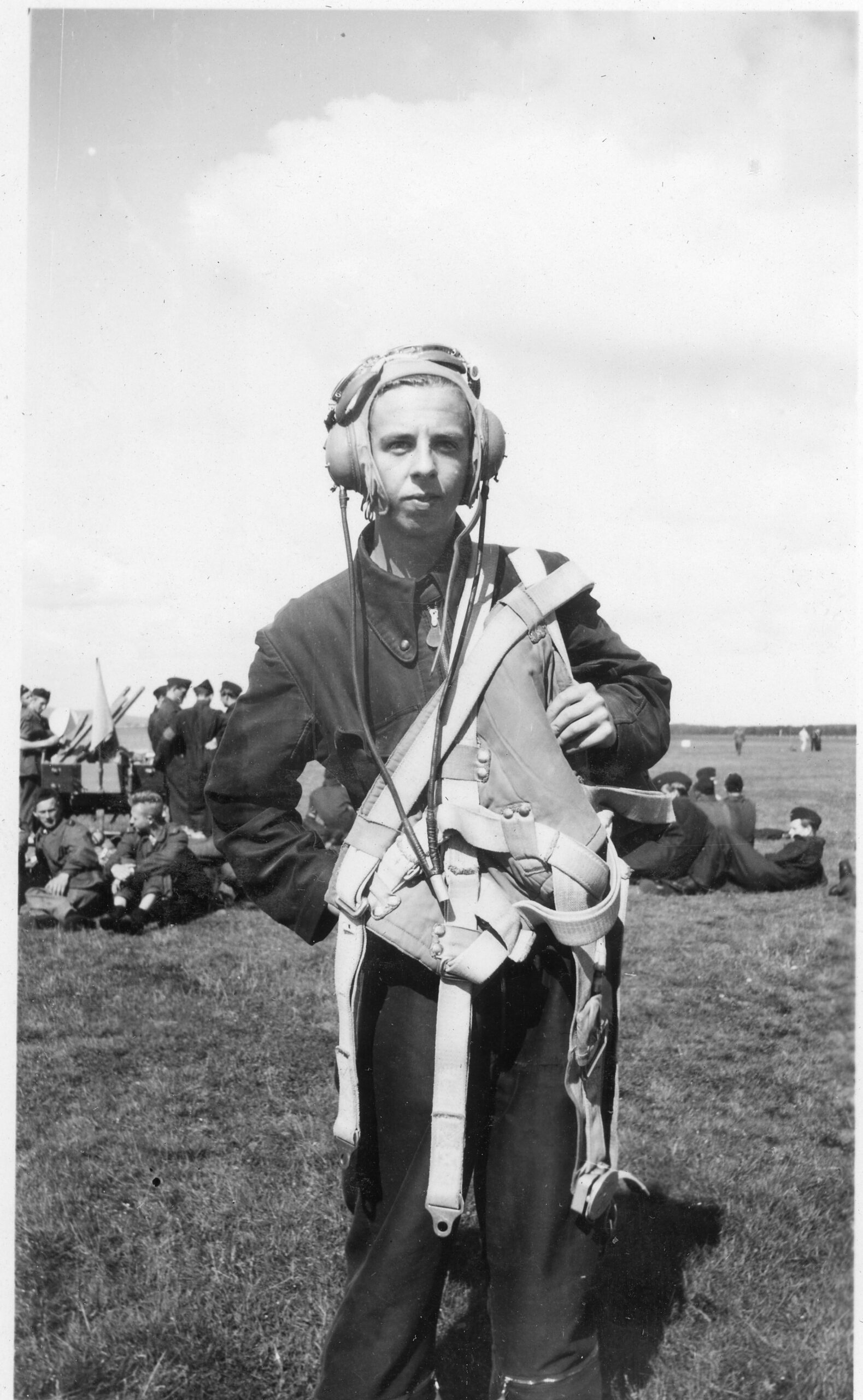 Anders Rogberg var 18 år gammal när han ingick i Sveriges första flygvapenkull. Foto: Lightray Productions.